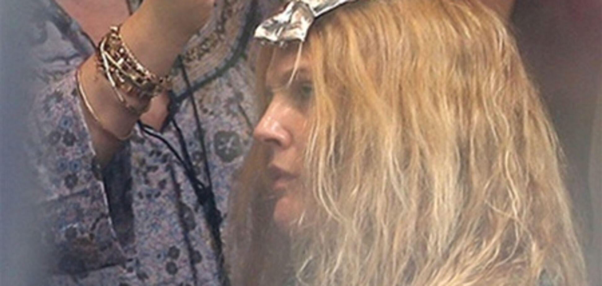 Дрю Бэрримор стала яркой блондинкой