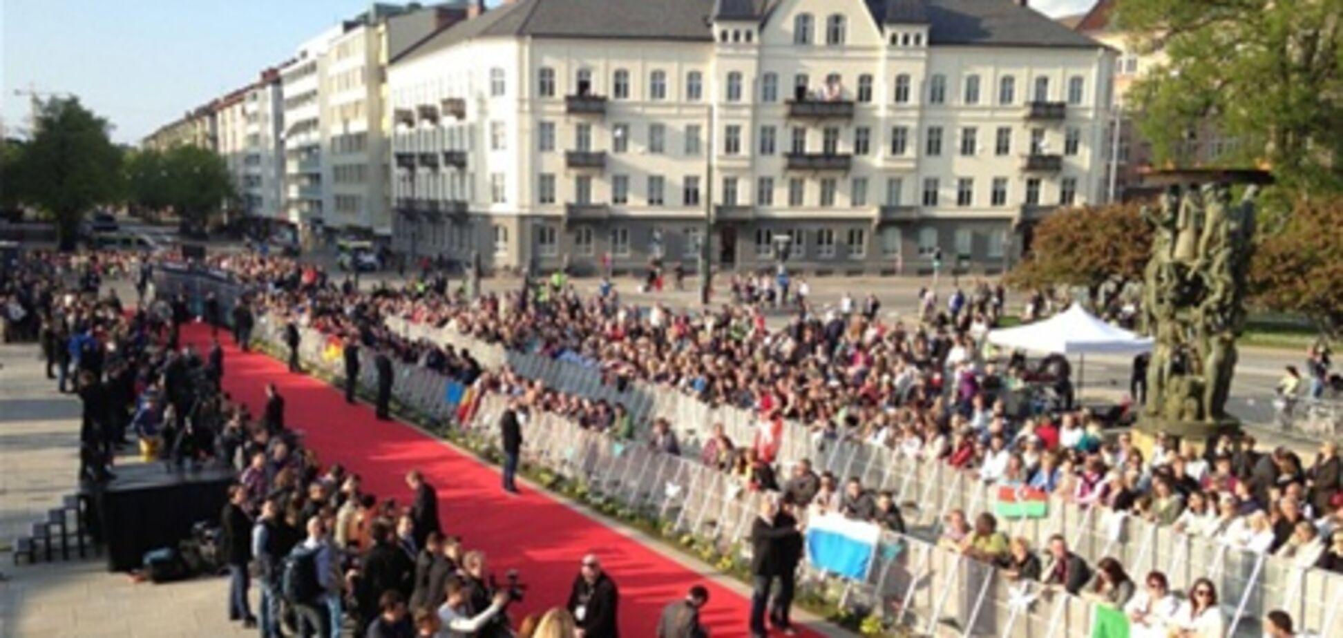 Участники Евровидения устроили дефиле на открытии конкурса