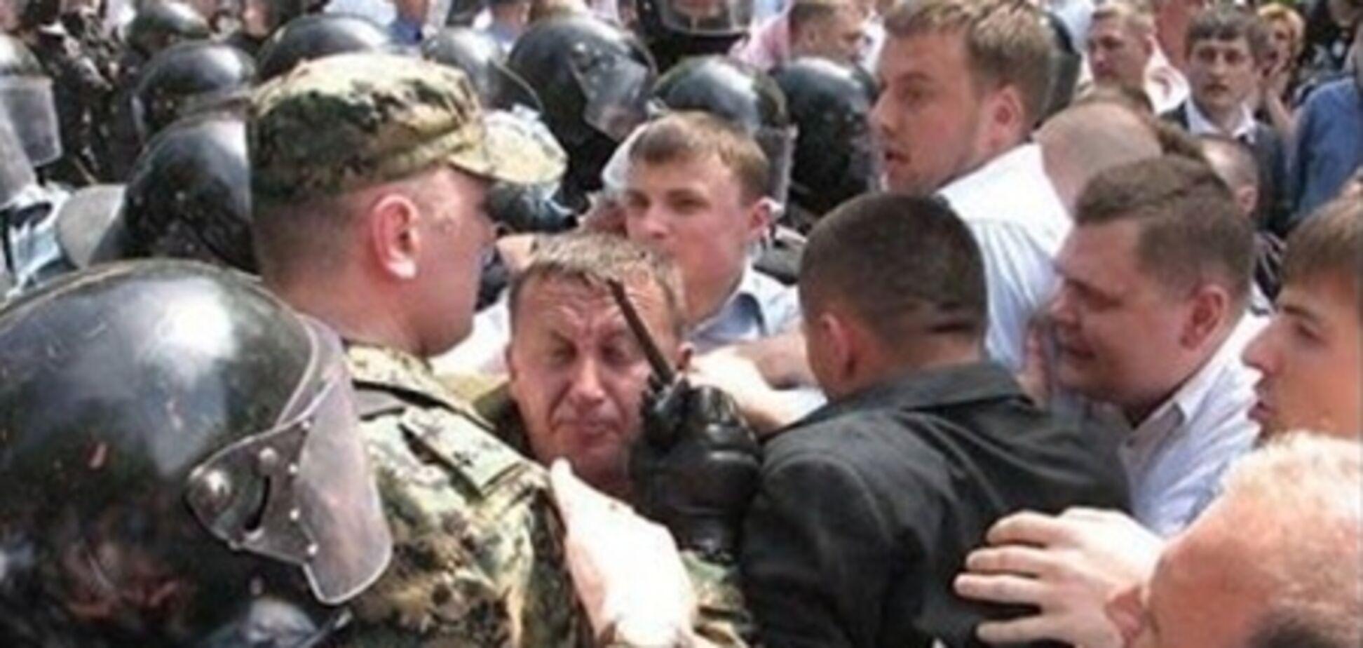 Свободовцы получили пять дней ареста за День победы в Тернополе