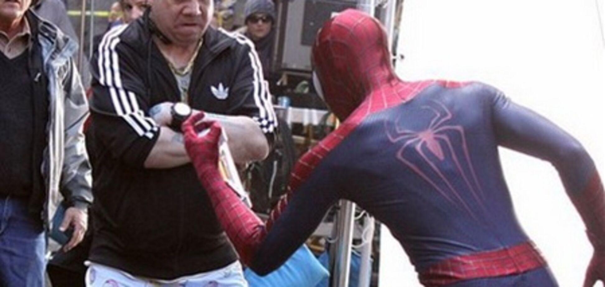 Съемки 'Нового Человека-паука 2': злодей без штанов
