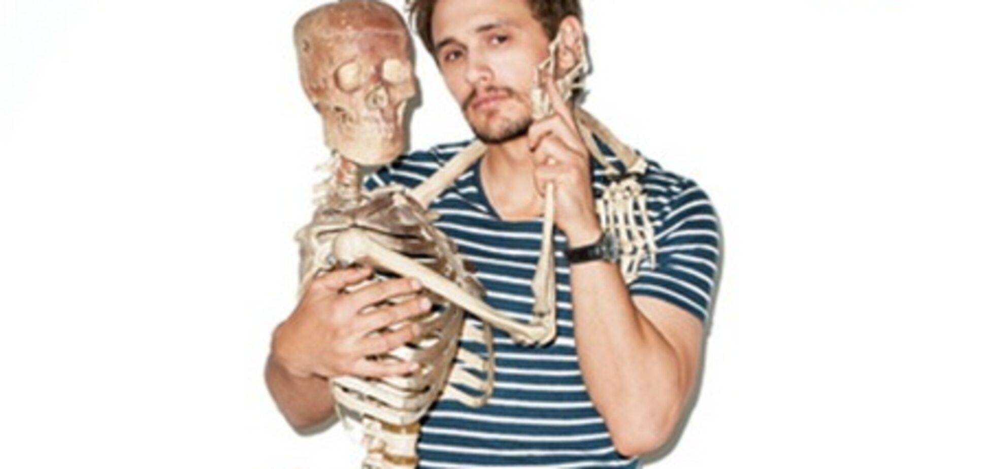 Джеймс Франко: шуры-муры со скелетом