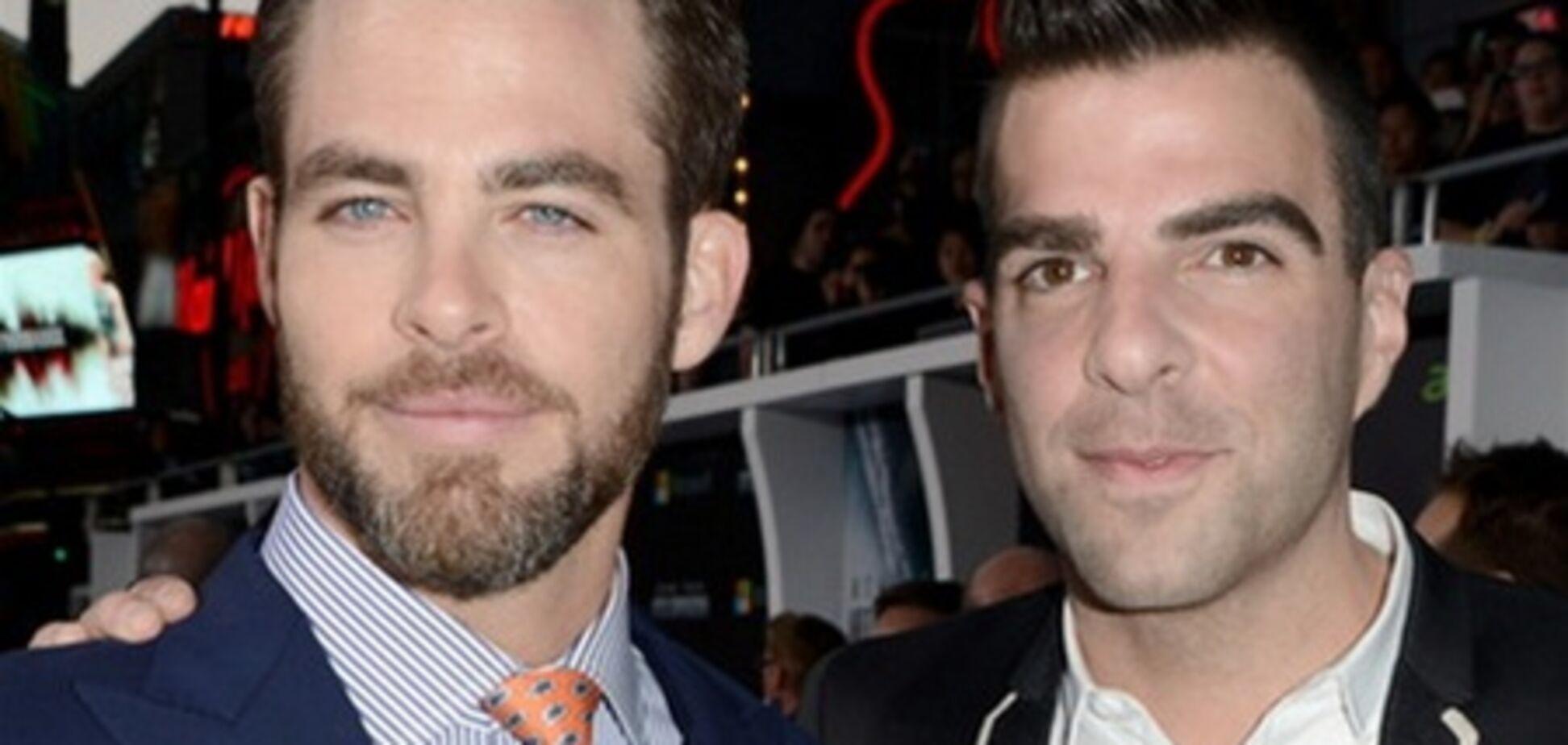 'Стартрек' в Голливуде: Спок и Кирк демонстрируют любовь