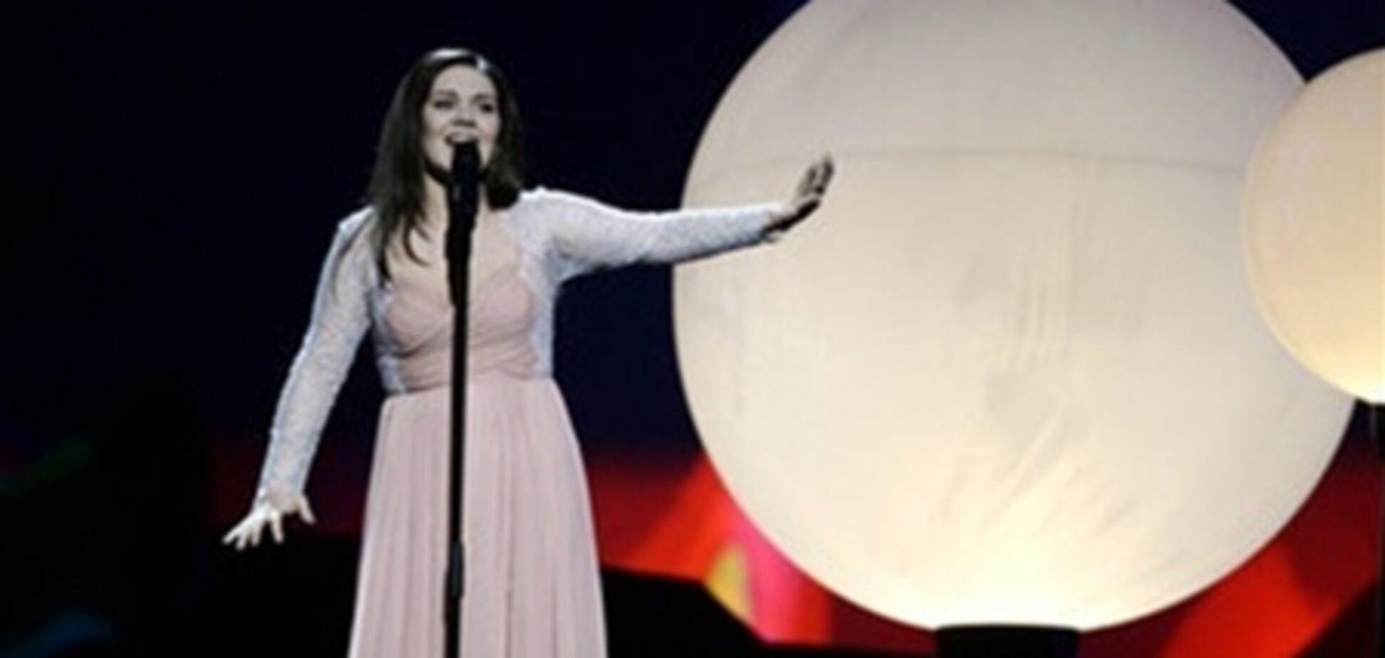 Представительница России довольна своим выступлением на 'Евровидении'