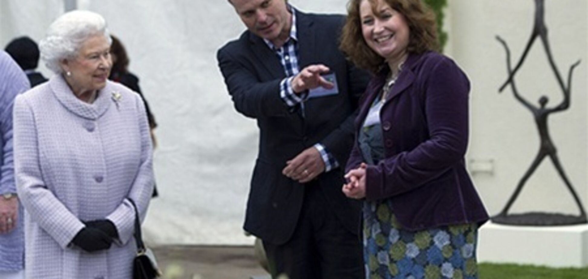 Британские монархи посетили сотую выставку Chelsea Flower Show