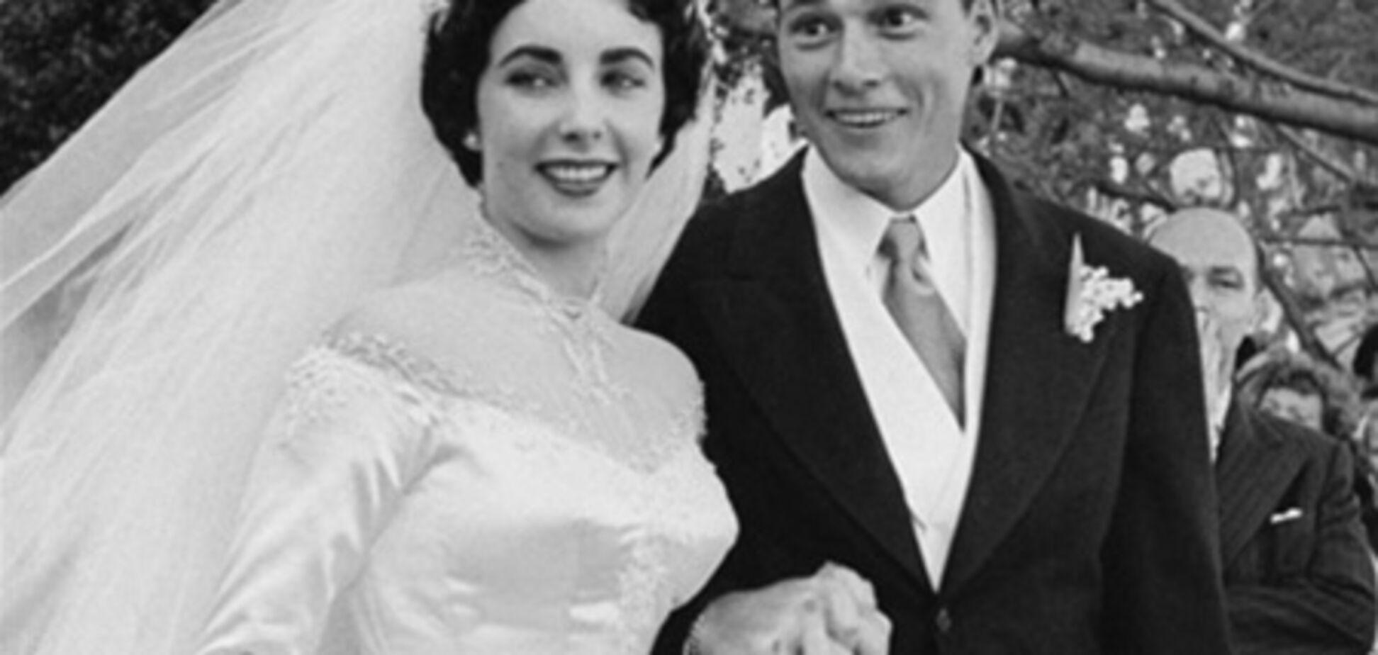 Первое свадебное платье Элизабет Тейлор уйдет с молотка