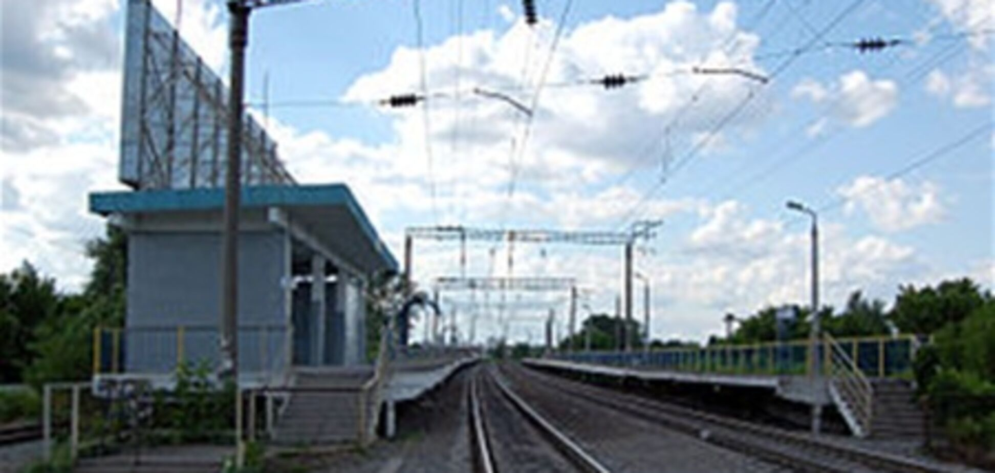 Станцию электрички 'Зенит' закрыли до июля