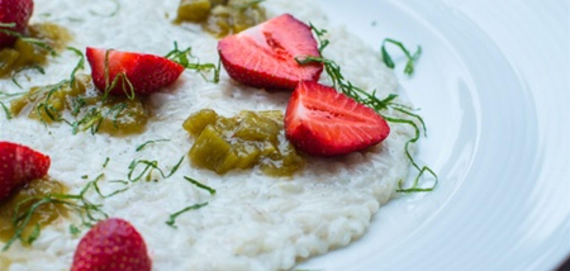 Новые блюда со спаржей и клубникой в ресторане Bigoli