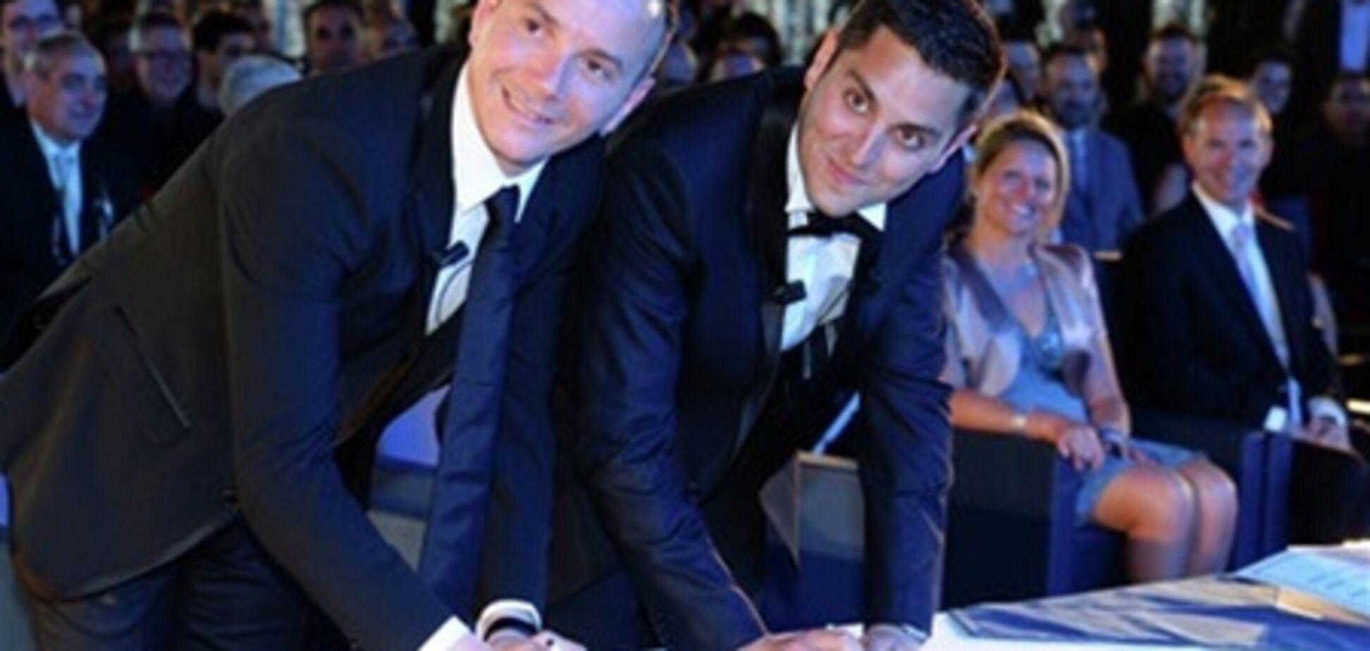 Во Франции заключен первый гей-брак