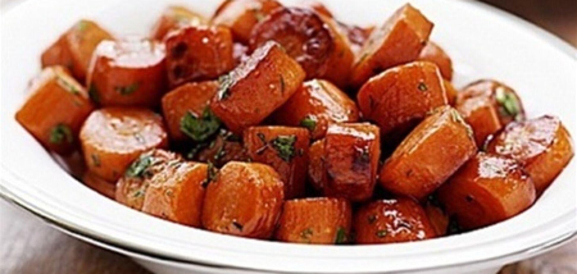 Морковь с медом и тимьяном