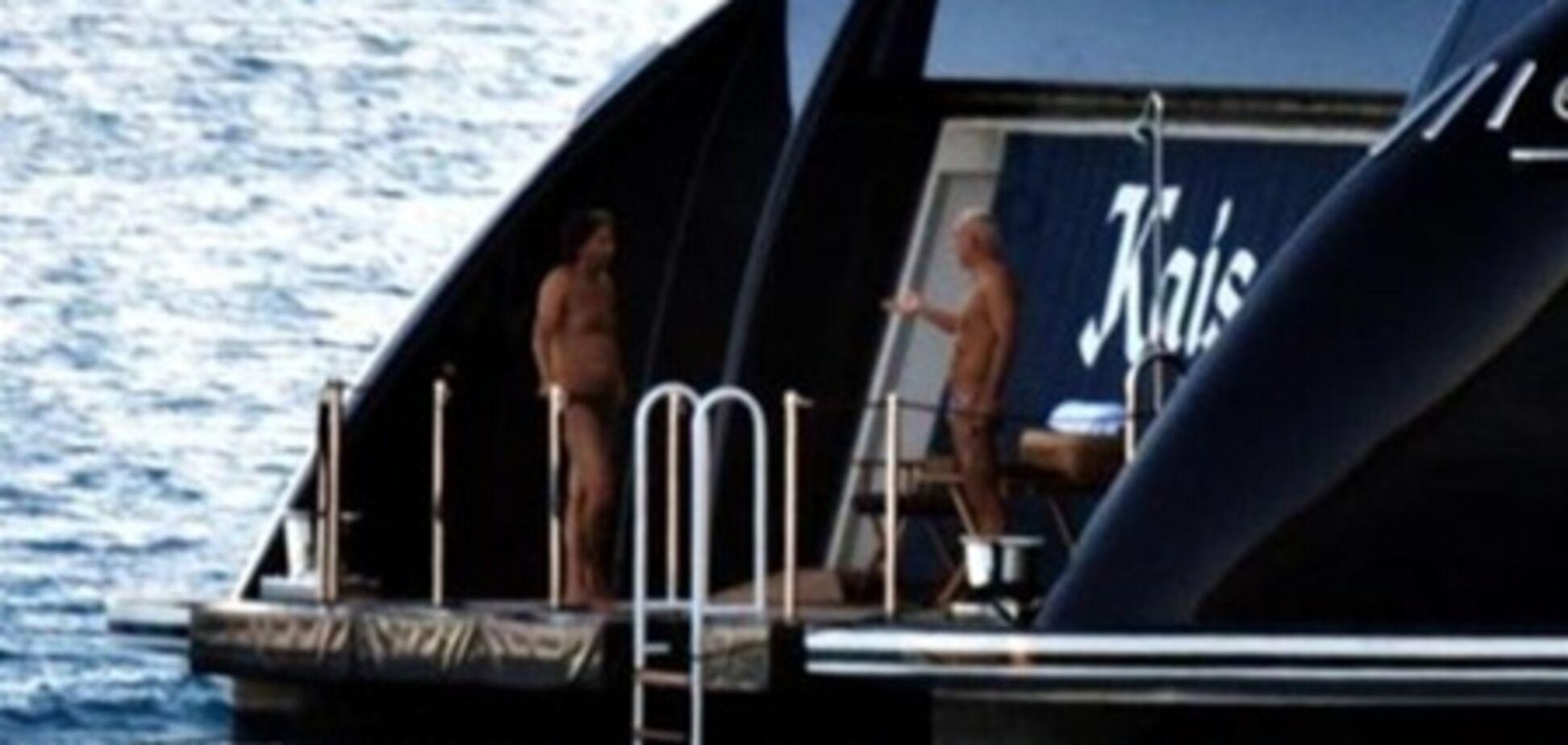 Экс-владелец 'Металлиста' Ярославский засветился в плавках. Фото