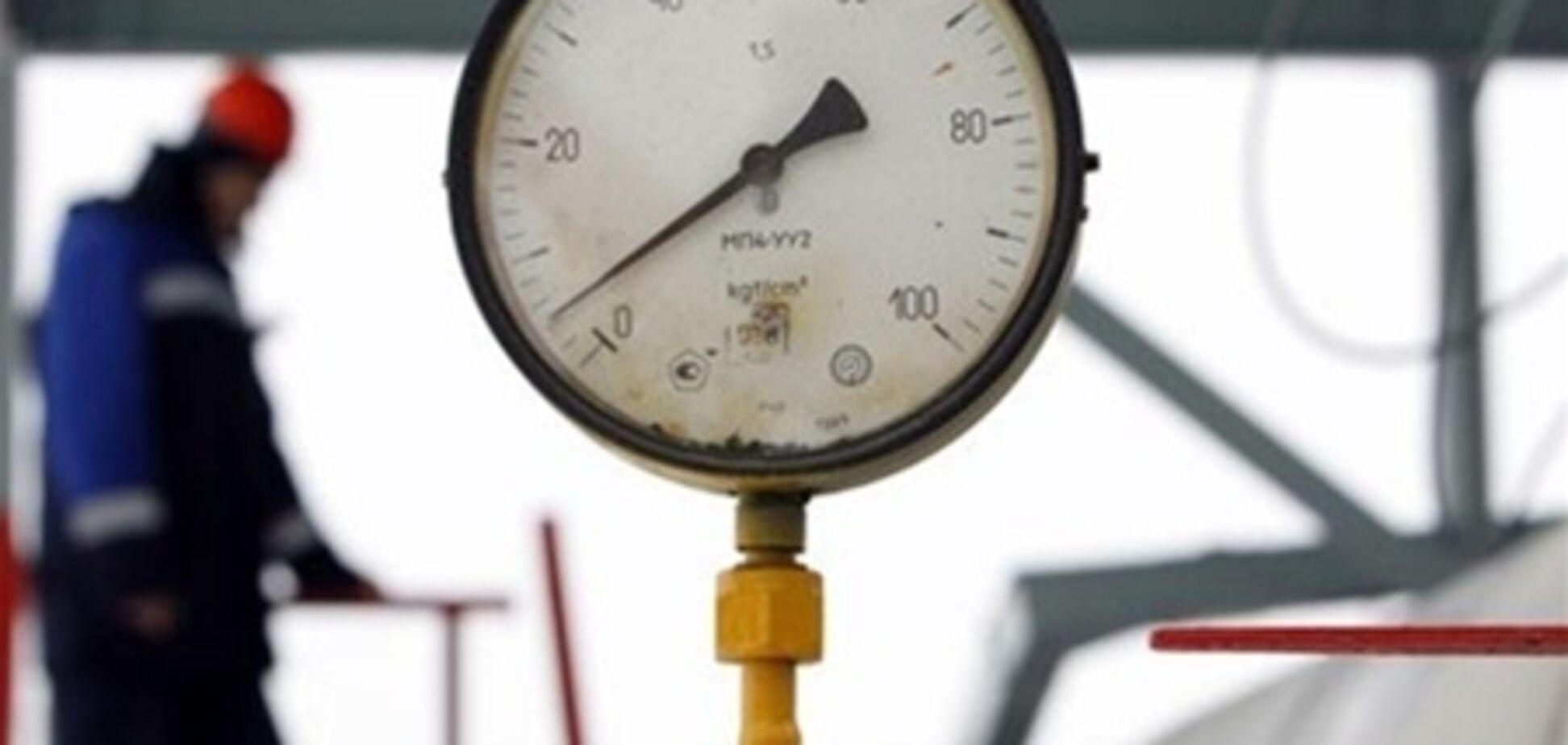 Украина сократила импорт газа на 19,7%
