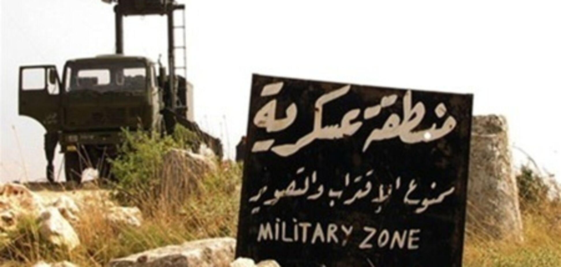 Турецких военных обстреляли на границе с Сирией
