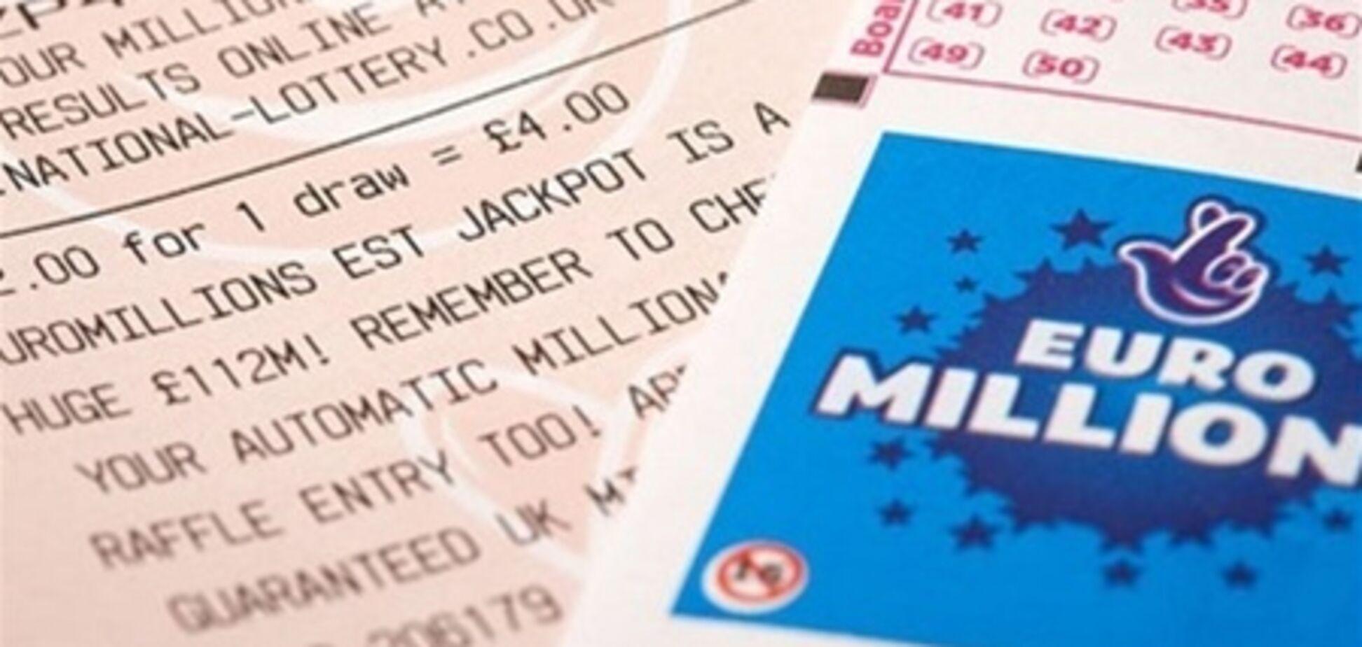 Британец выиграл £81 млн в EuroMillions Lottery