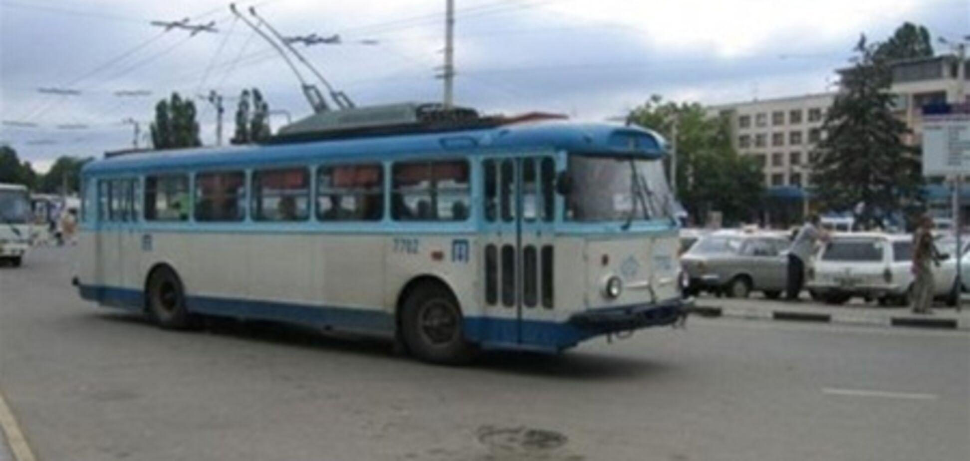 В Симферополе троллейбусом управлял наркоман