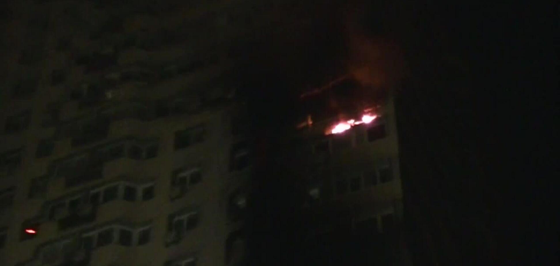 Спасатели ликвидировали пожар в Киеве