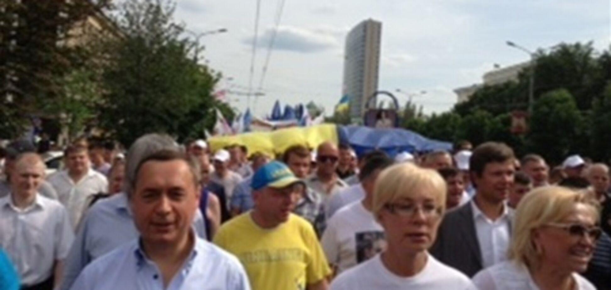 Милиция насчитала 800 'повстанцев' в Донецке