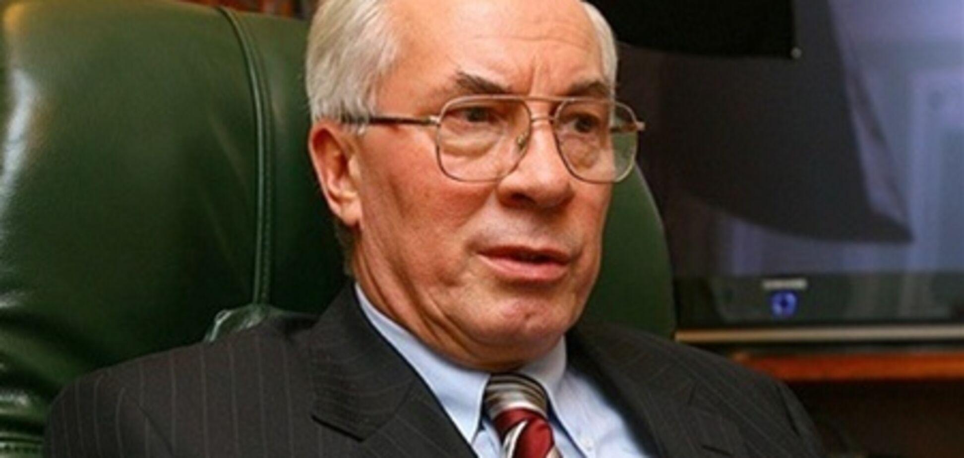 Азаров прибыл в Минск, чтобы подписать меморандум с ТС
