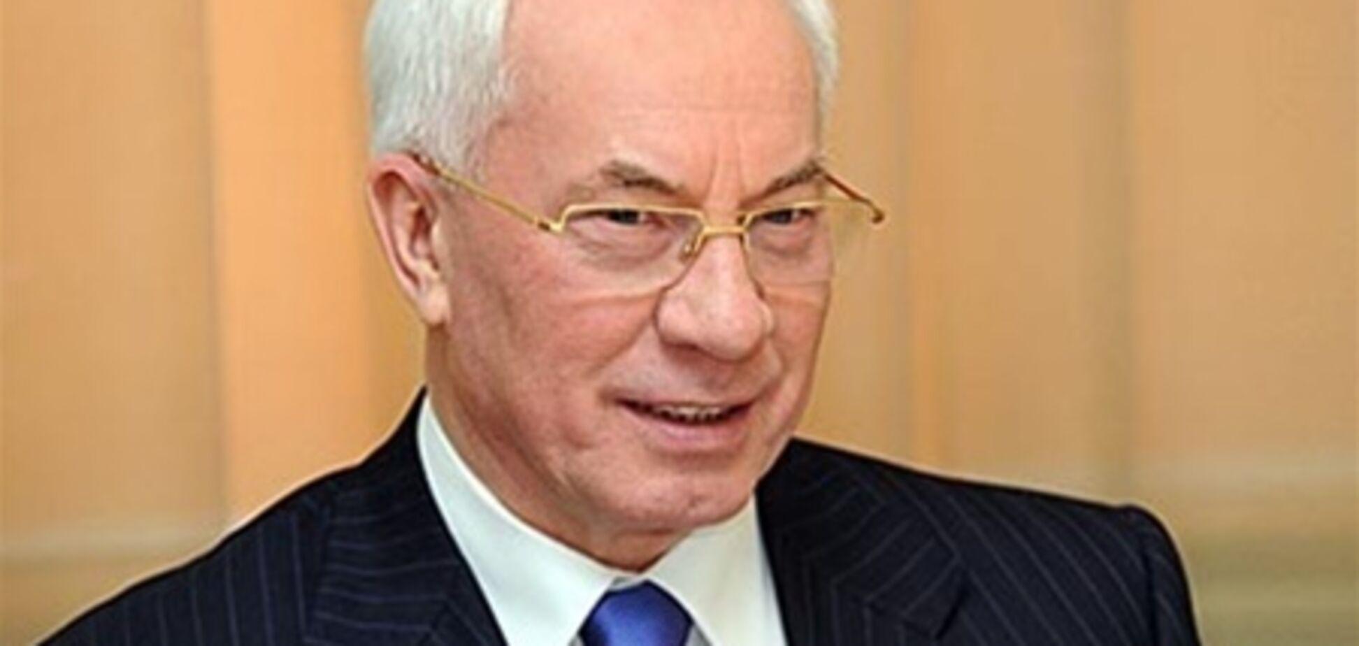 Азаров: Україна розраховує в ТЗ на підтримку Білорусі