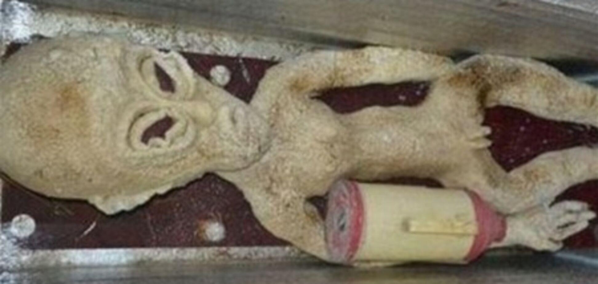 Китаєць зберігає в холодильнику мертвого інопланетянина
