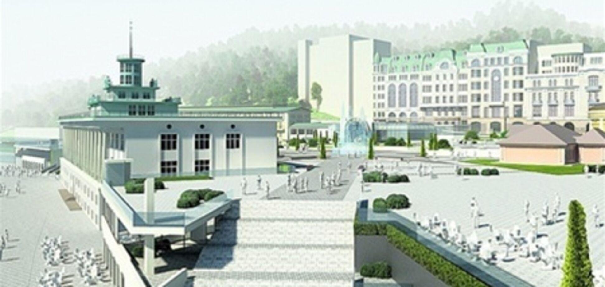 Почтовую площадь украсят 'Одесской лестницей'