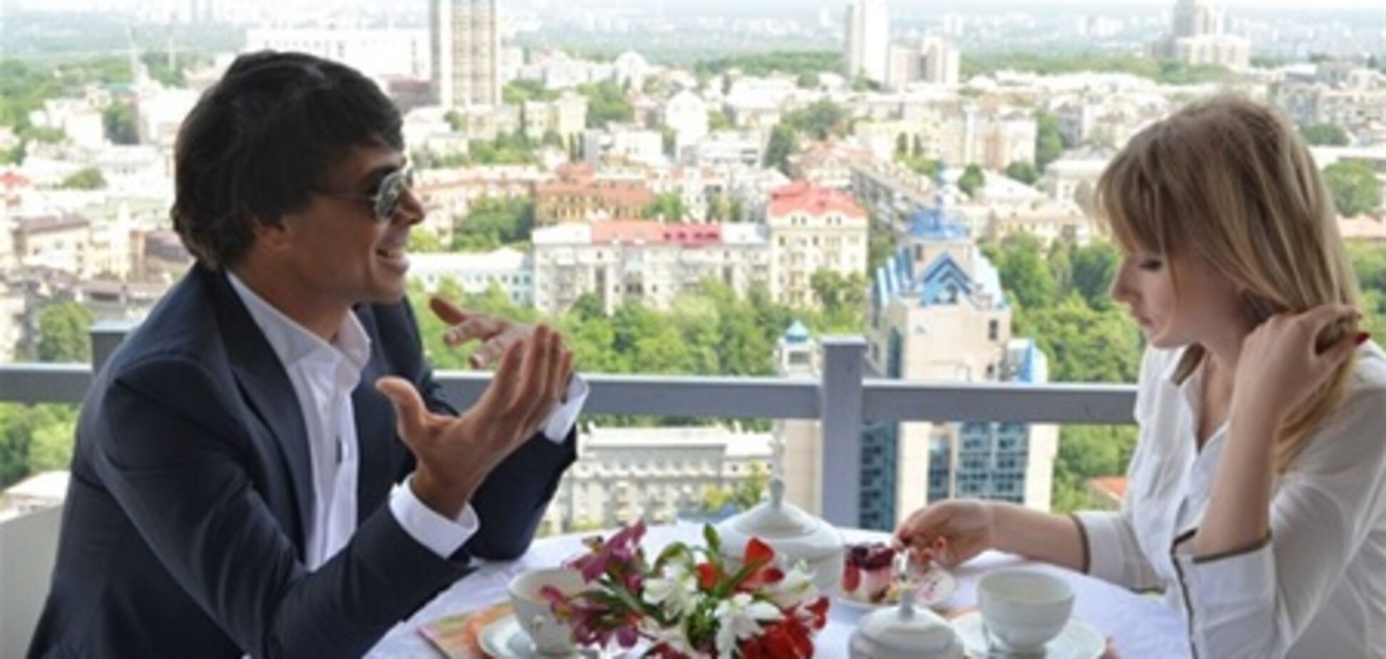 Валид Арфуш за завтраком с Березовской
