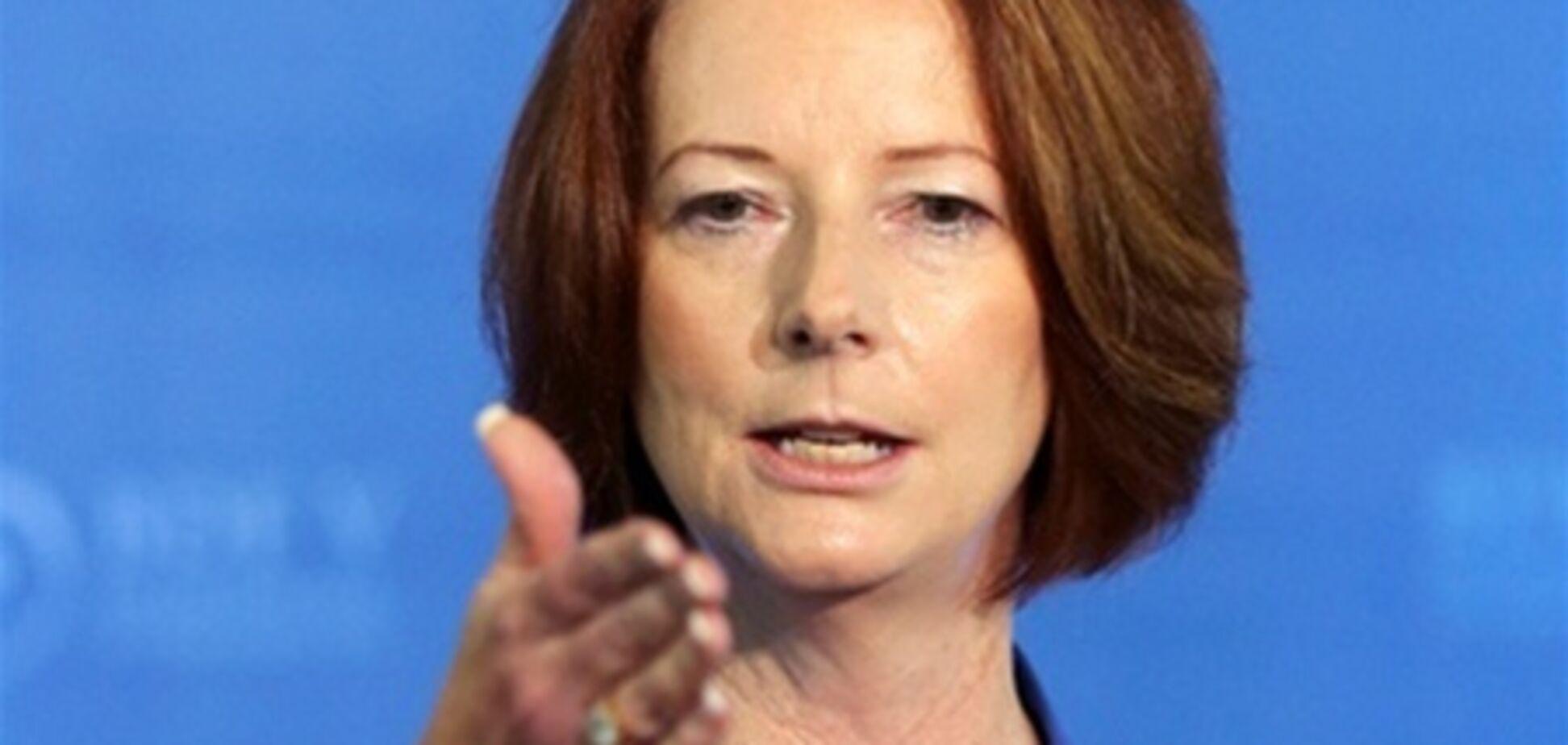 Австралійська прем'єр обурилася сексизмом в меню