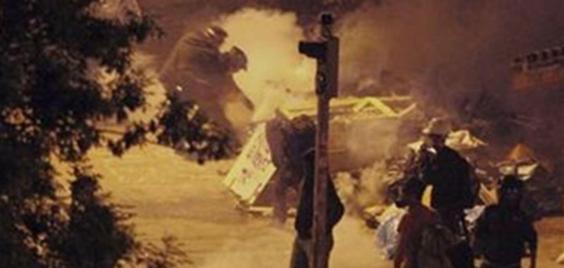 Полиция применила слезоточивый газ против демонстрантов в Анкаре
