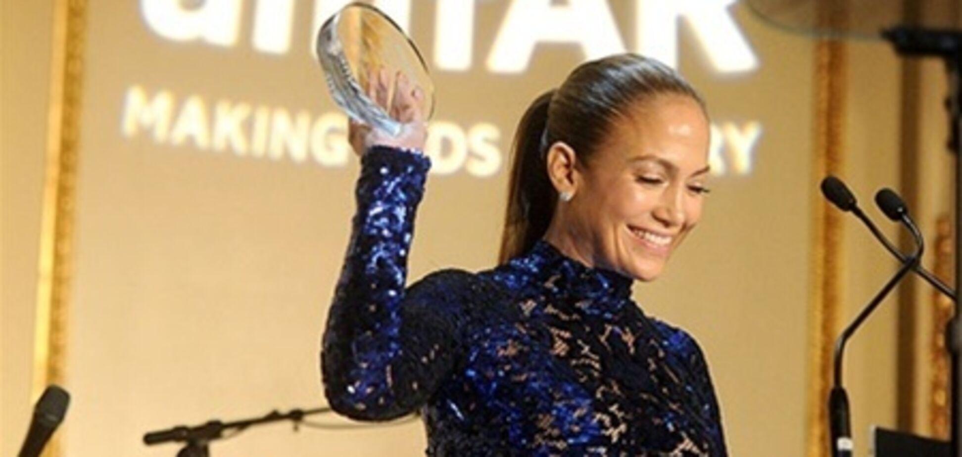 Дженнифер Лопес удостоилась награды amfAR