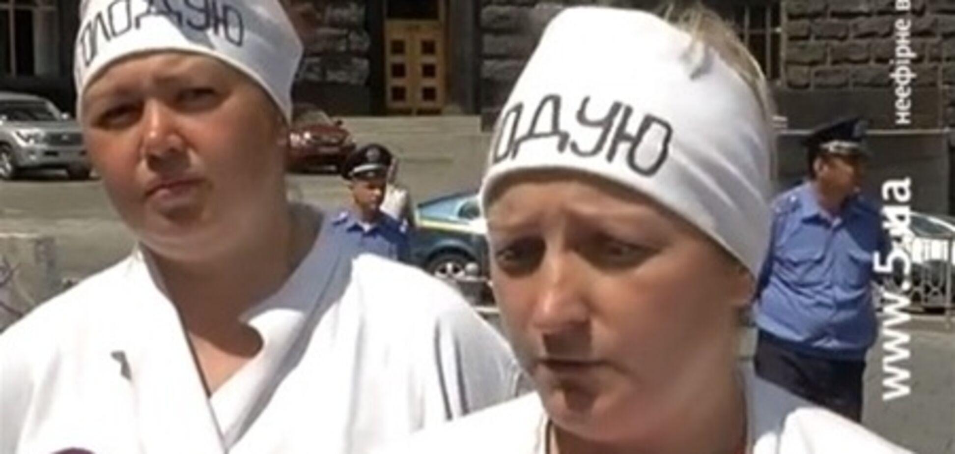В Киеве голодающие пекари попали в больницу