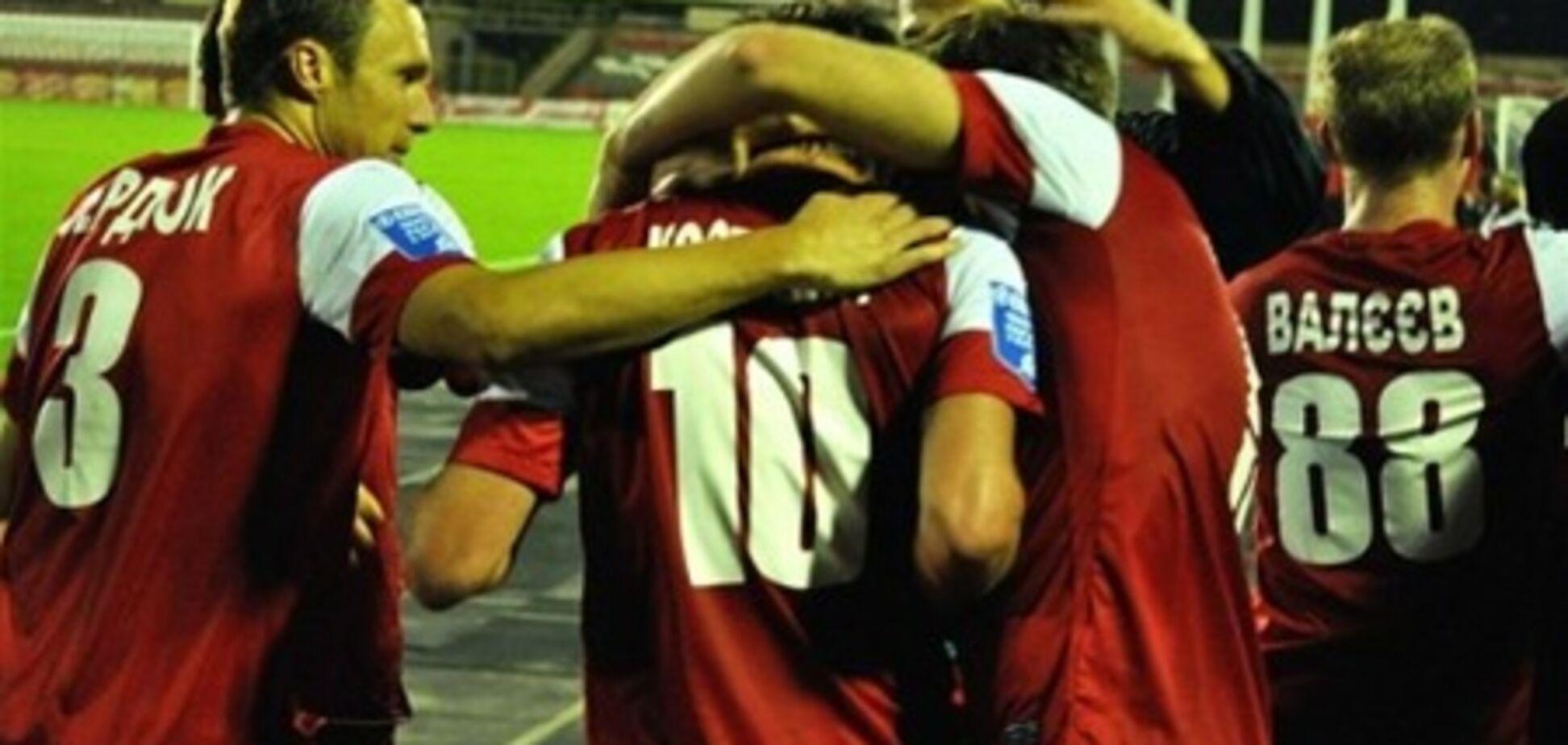 Болельщики 'Кривбасса' борются за жизнь клуба до последнего