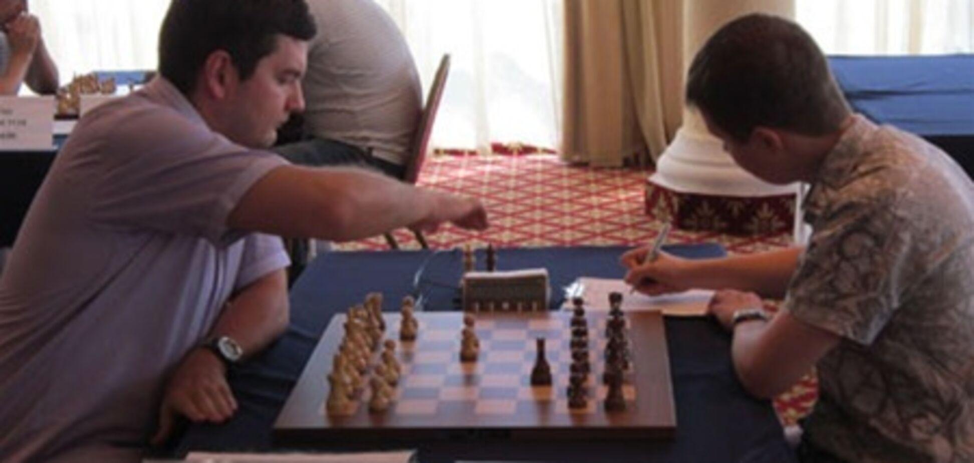 Чемпионат Украины по шахматам: первый тур подарил сюрпризы