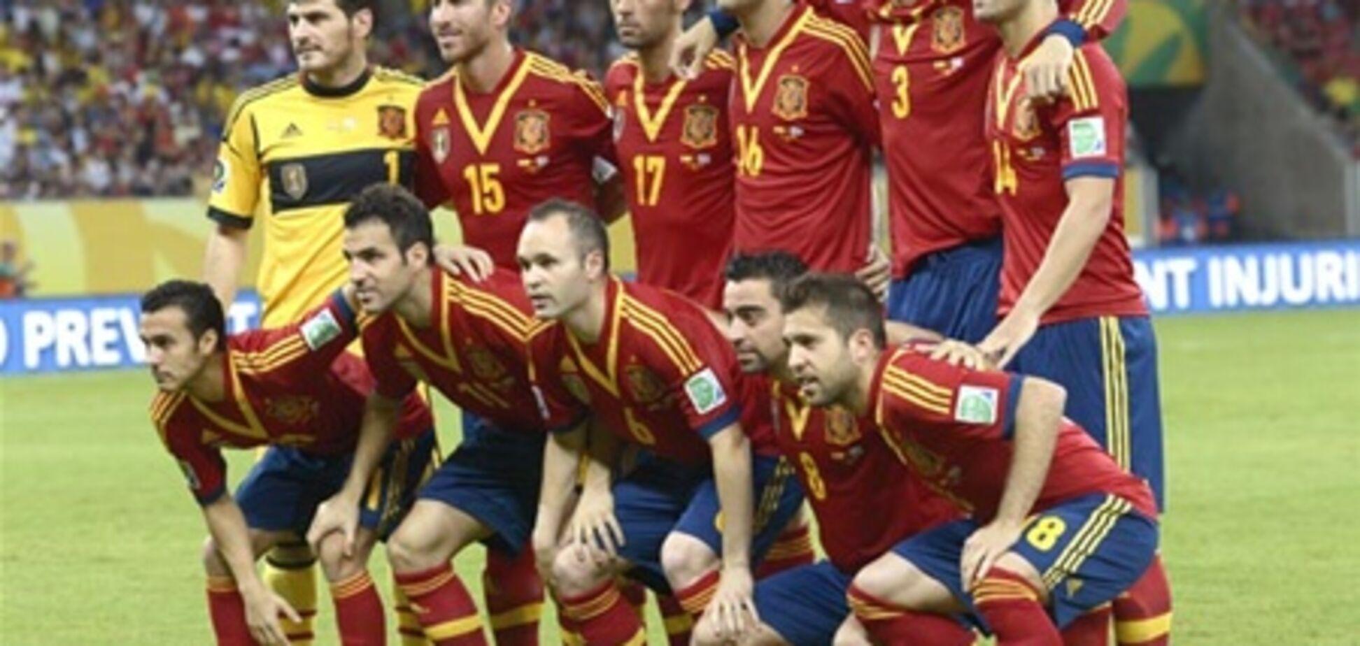Футболисты сборной Испании устроили вечеринку с девушками и покером на раздевание