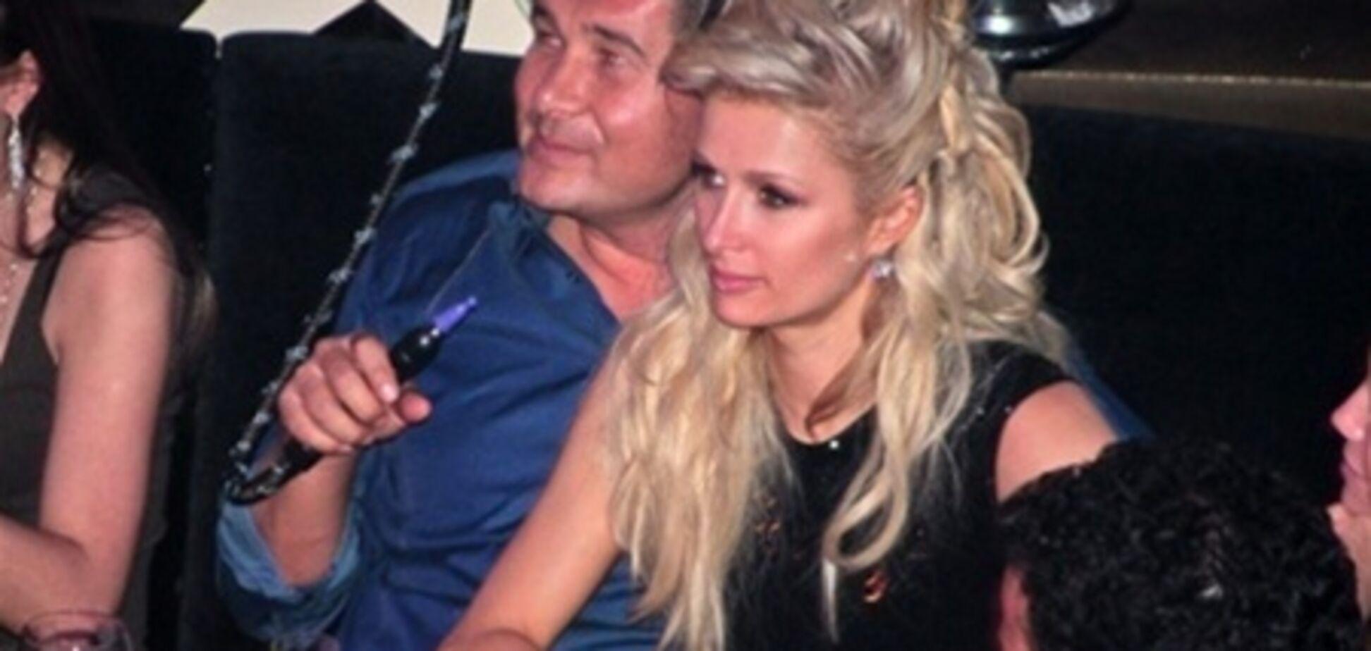 Хілтон назвала нардепа Онищенко 'милим'