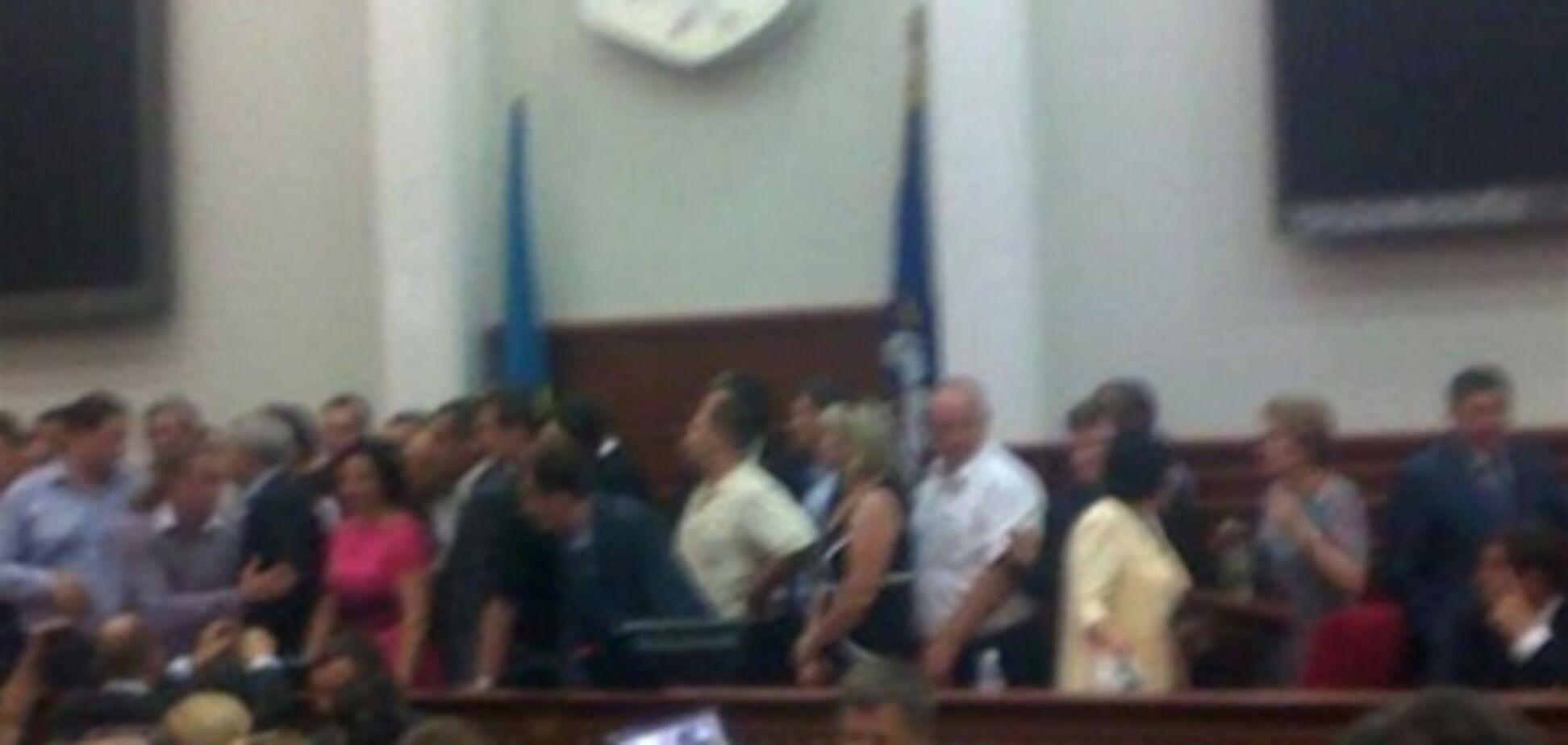 Герега: заседание Киевсовета - законное