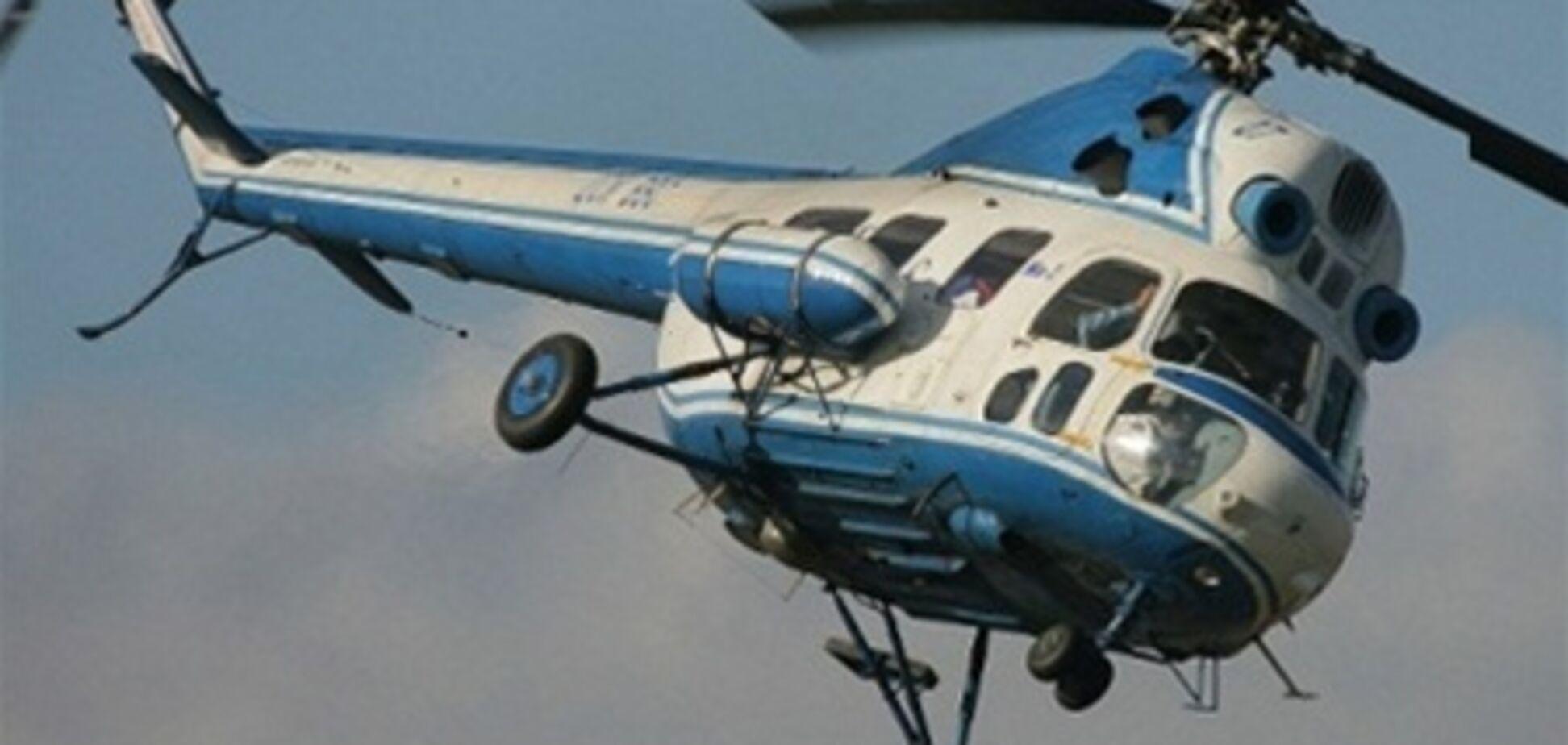 На Херсонщині розбився вертоліт Мі-2