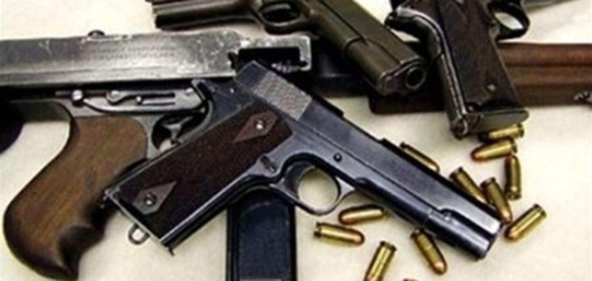 У Дніпропетровську у пенсіонерки вилучили арсенал зброї