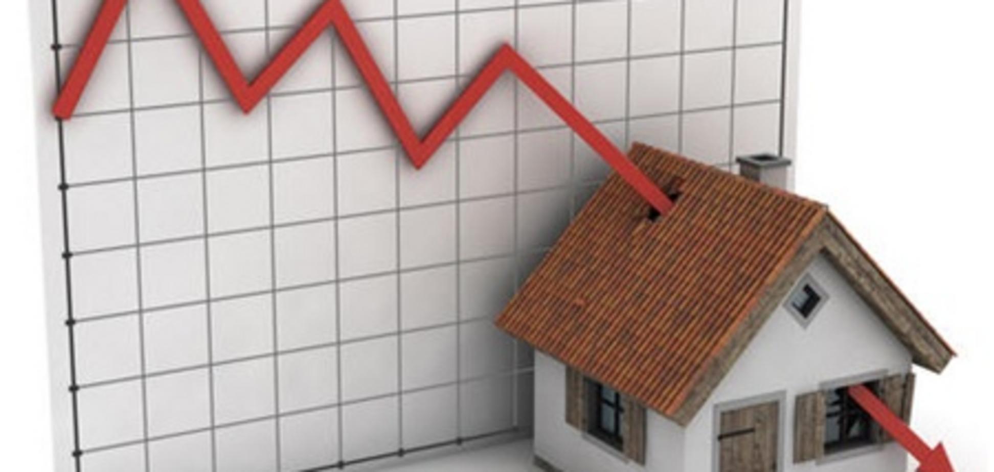 Количество сделок на вторичном рынке жилья упало в 1,5 раза
