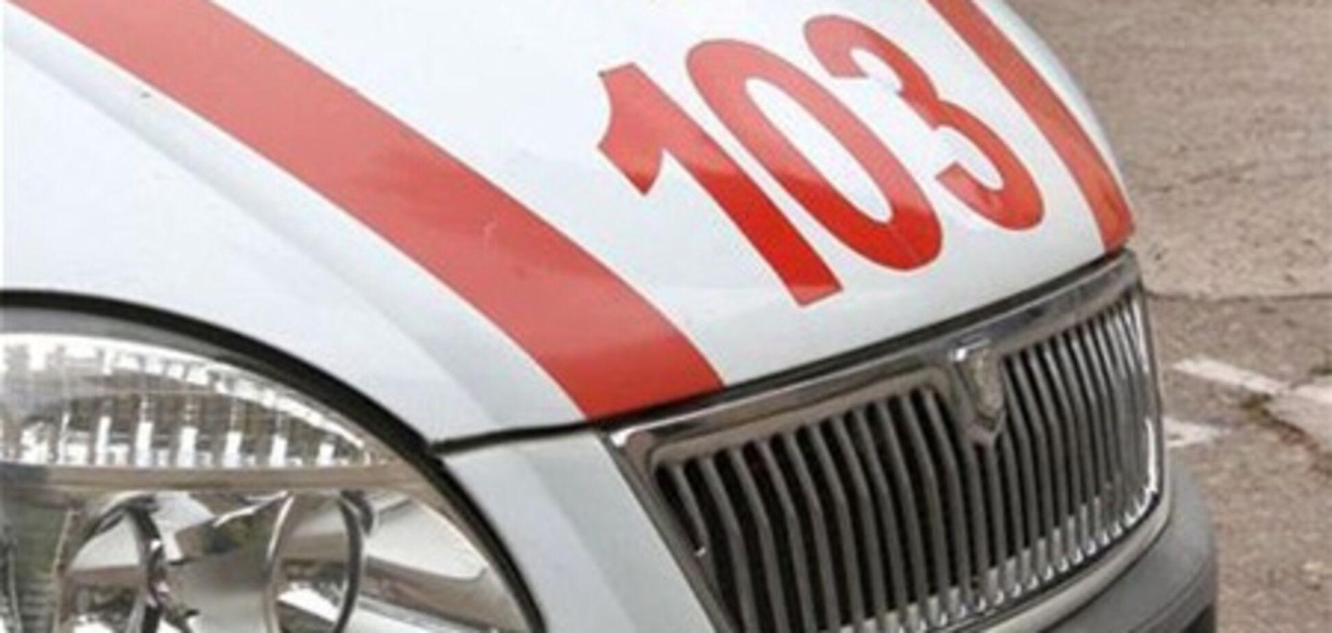 На Вінниччині на чоловіка впала пересувна кран-балка