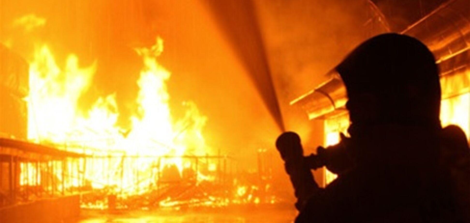 В Полтаве горела колония
