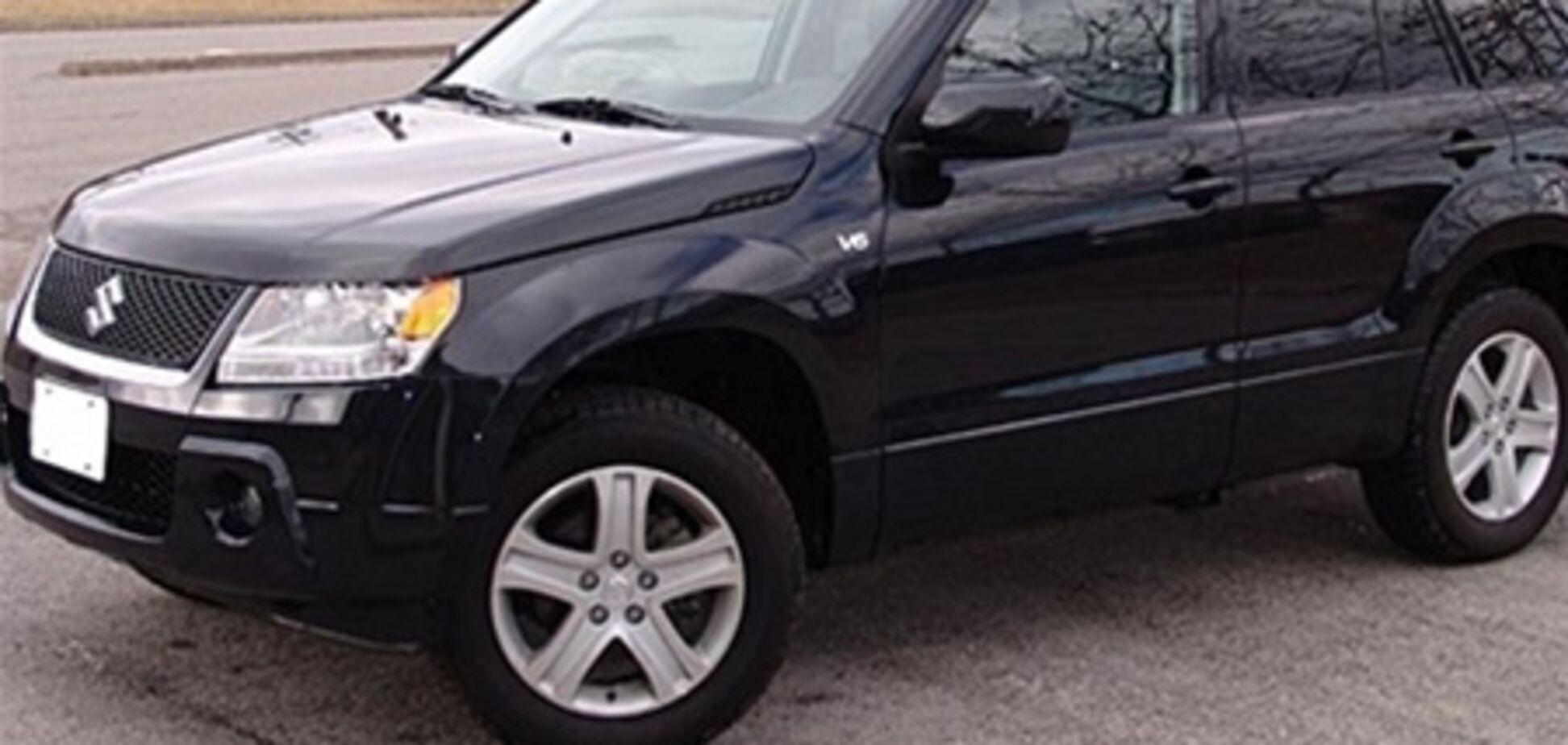 Инкассатор-убийца мог скрыться на черной Suzuki Grand Vitara