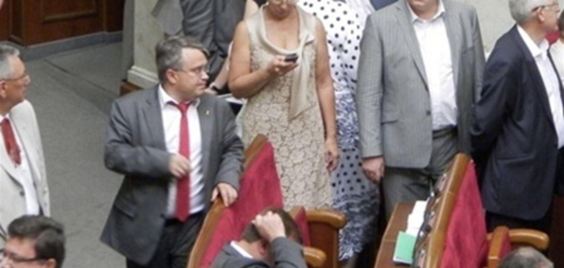 Депутаты-оппозиционеры повышают рождаемость в Украине