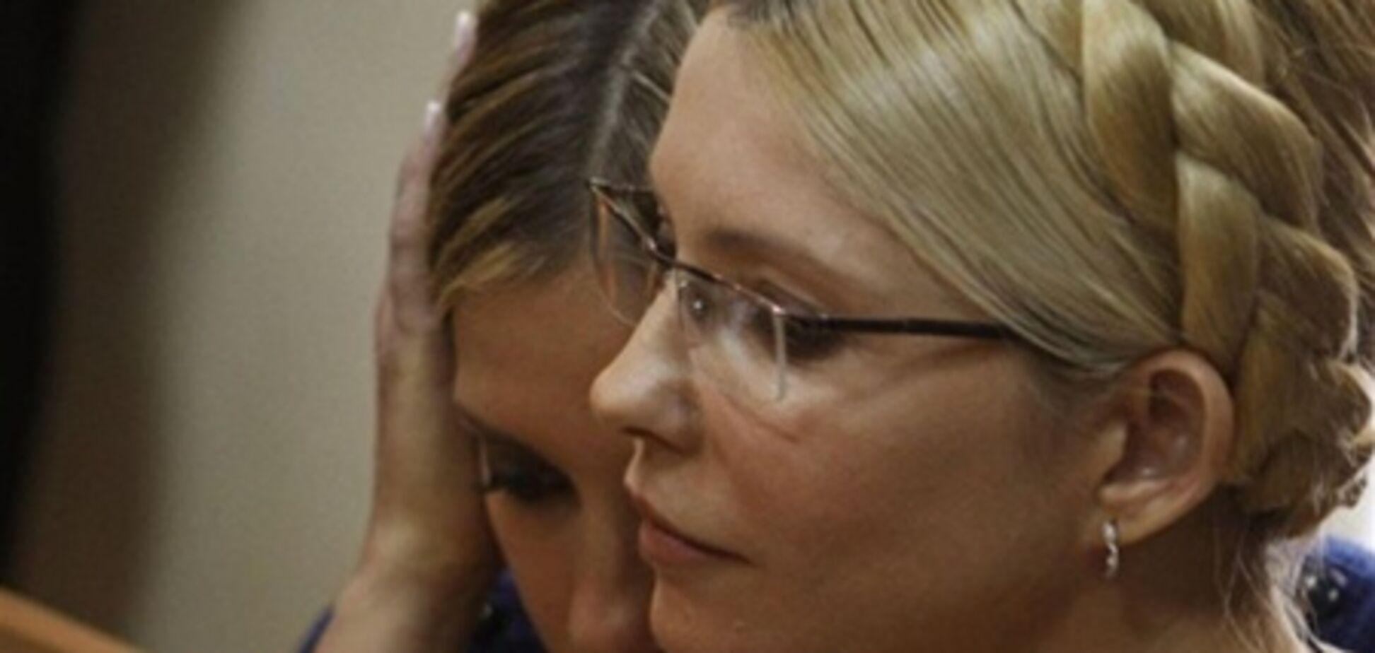 До Тимошенко в лікарню на три дні приїхала дочка