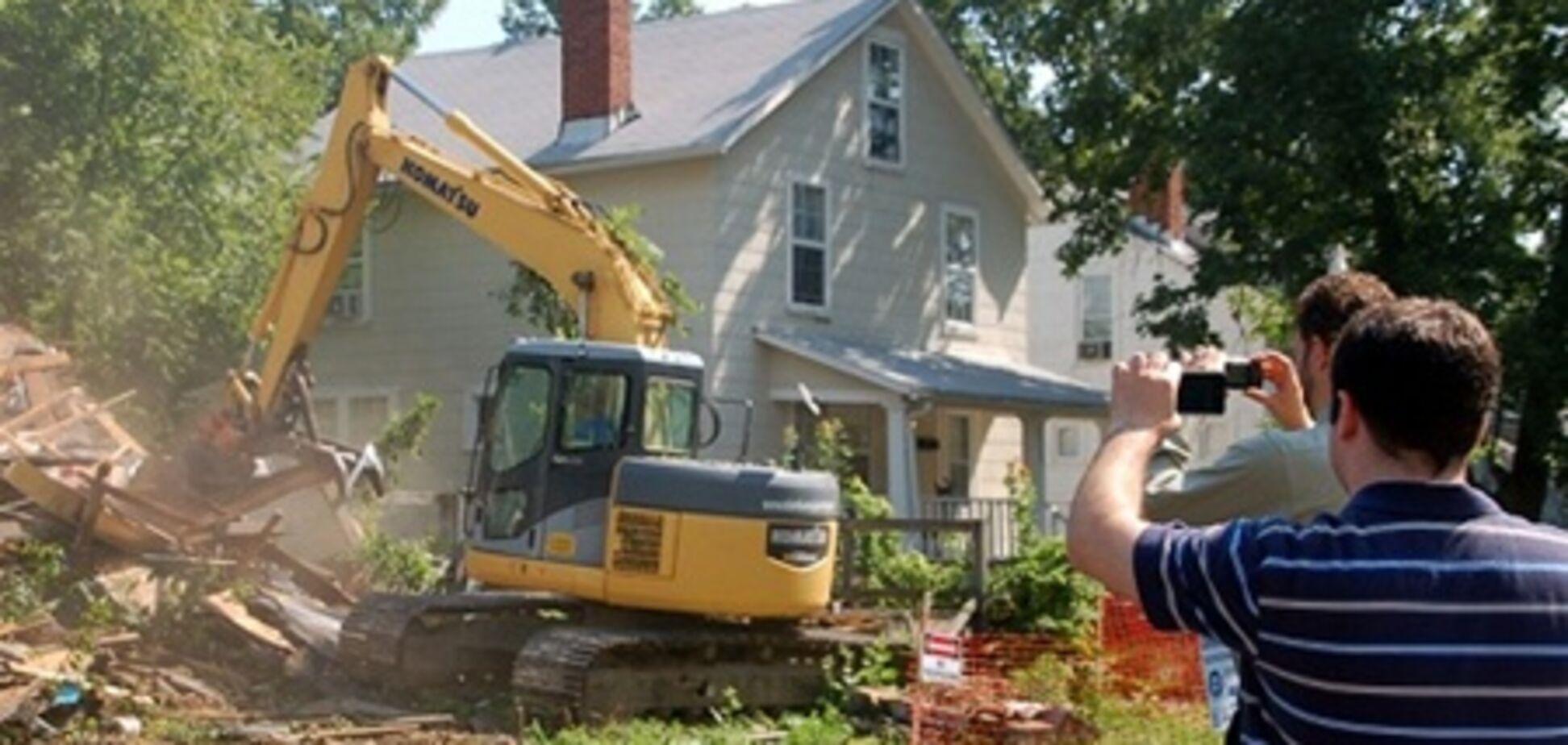 В США строители по ошибке снесли не тот дом