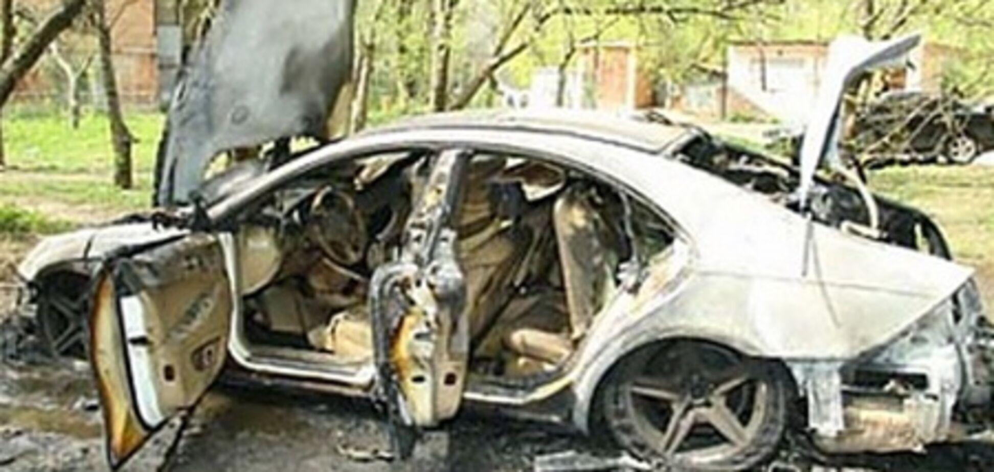 На Донеччині вбивця, спалюючи труп, сам мало не згорів