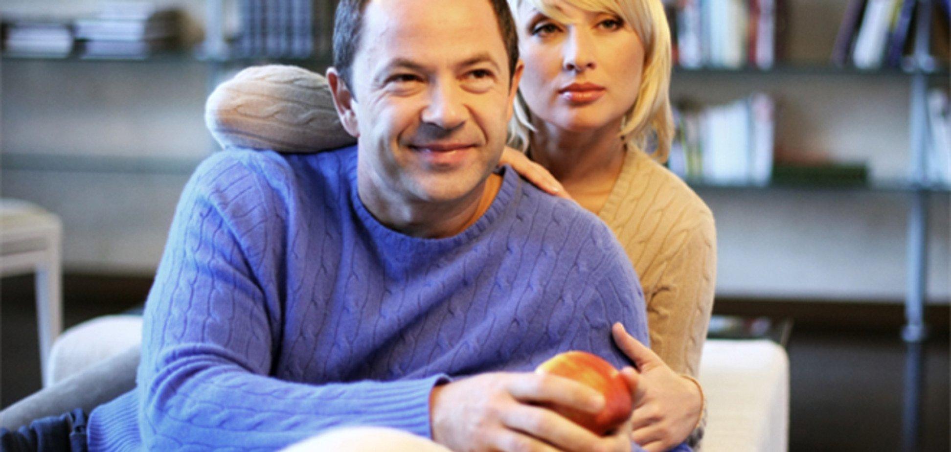 Жена Тигипко призналась, что крутила вертушечки