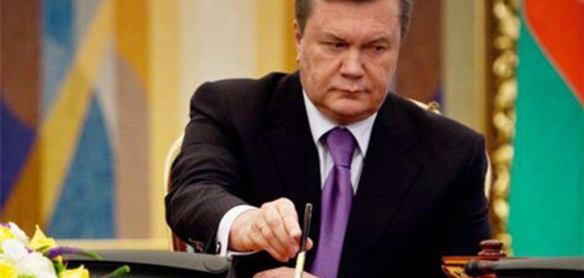 Янукович ветировал отсрочку запрета на отвод земельных участков