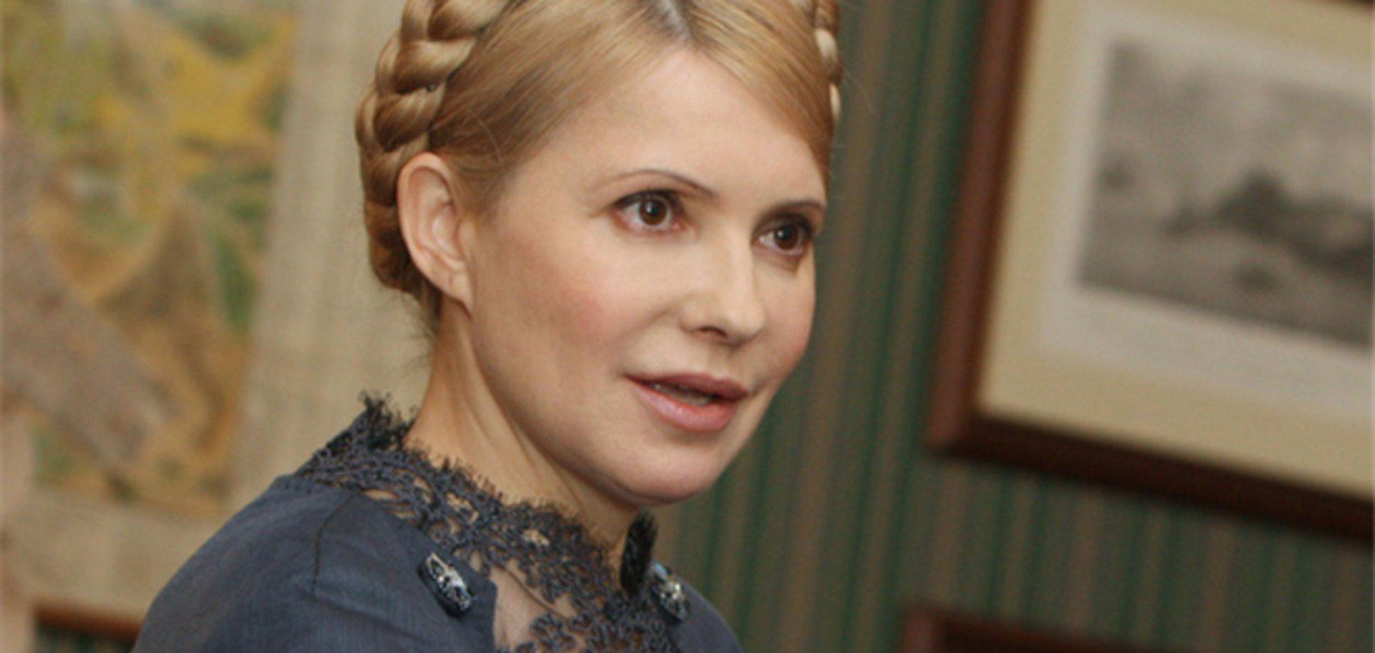 В колонии Тимошенко называют «с…кой»