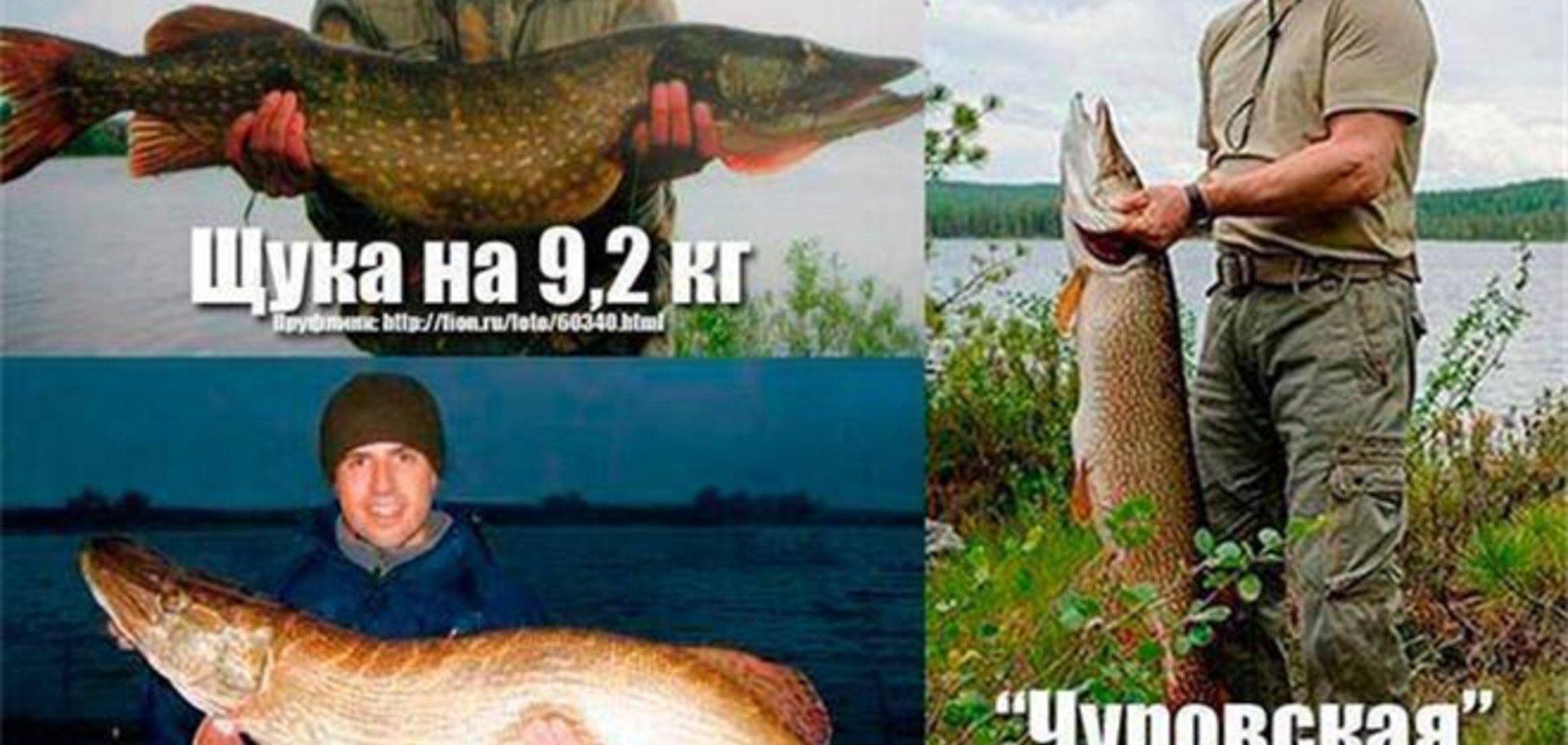 Путін і щука: блогери запідозрили обман