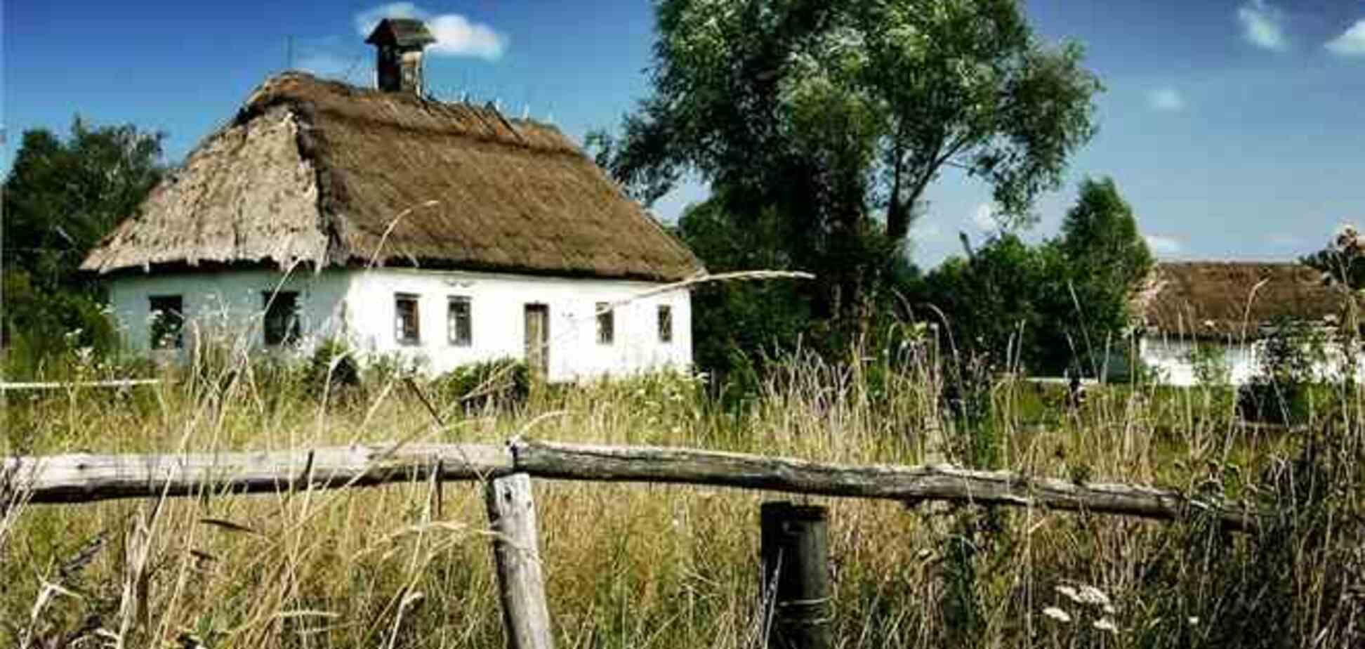 За квартиру в Киева можно купить село в глубинке