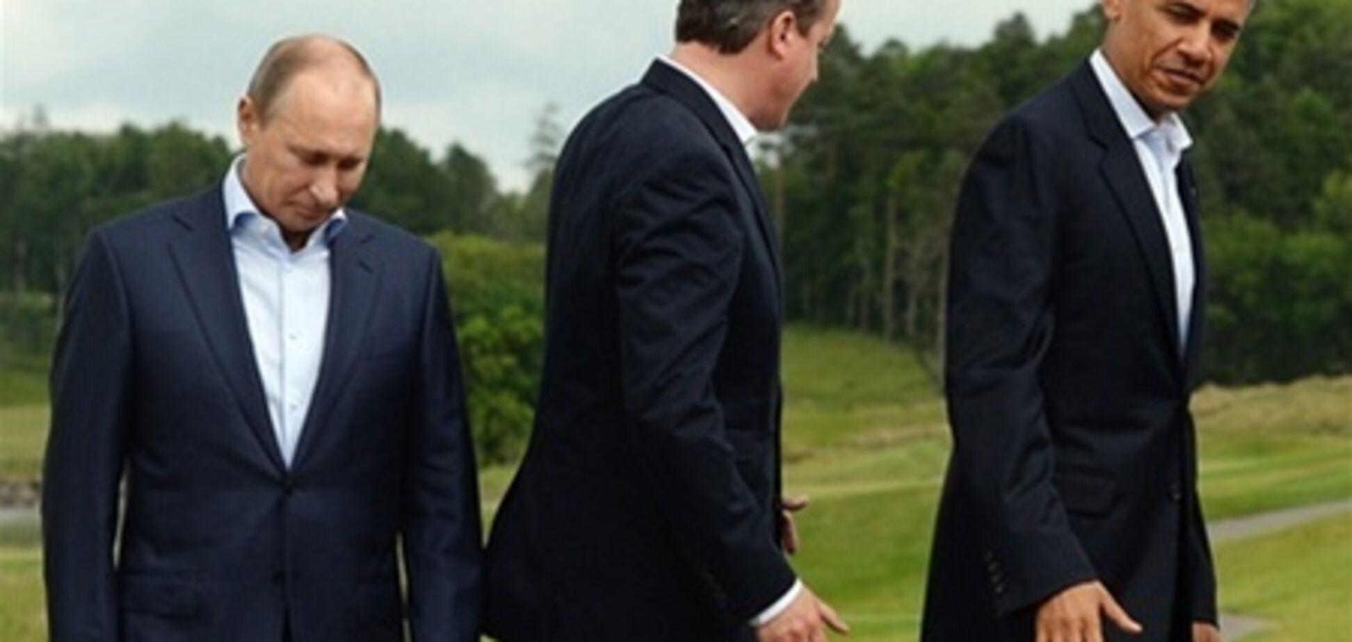 Путин предлагал участникам саммита G8 обнажить торсы - Кэмерон
